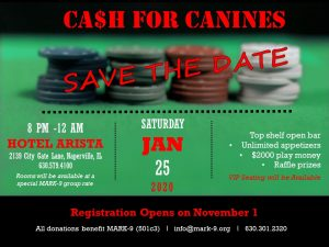 Cash for Canines