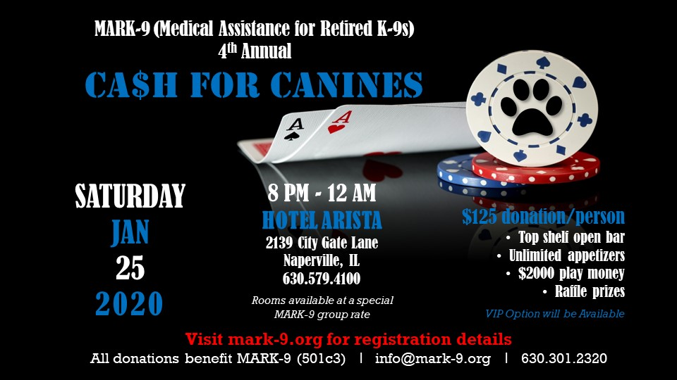 CA$H FOR CANINE$ 2020