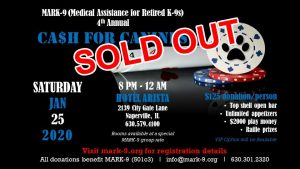 Cash for Canines - SOLD OUT